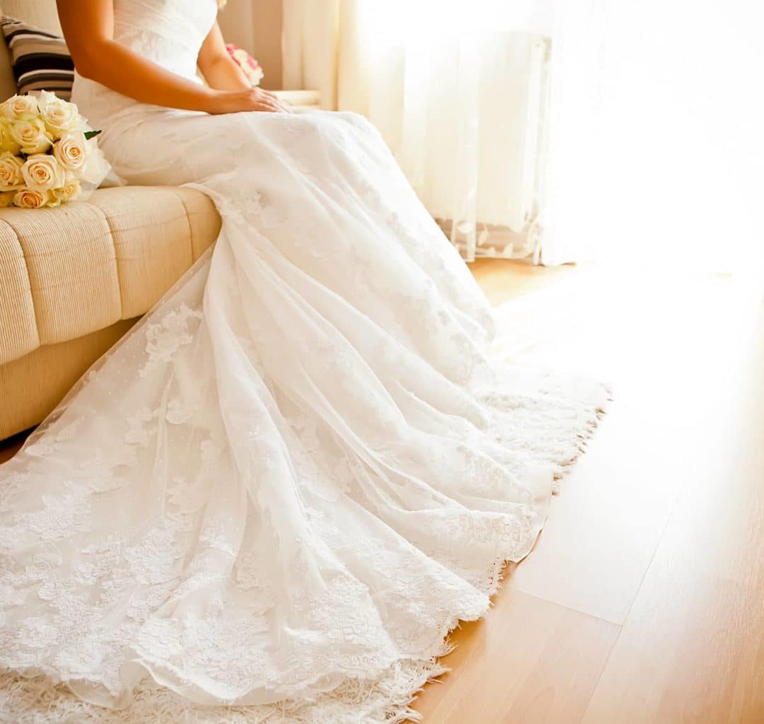 Wedding Gown Preservation - Use Our Professional Cleaning Services