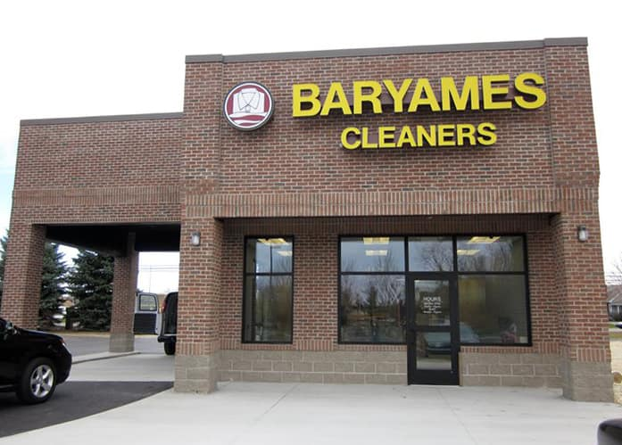 Baryames Cleaners storefront